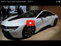 BMW i8:  Plug-In Hybrid Supersportwagen auf der IAA 2013