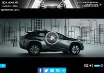 Der markante Crossovers Lexus LF-NX (Sponsored Video)