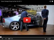 Der Volvo Concept Coupé auf der IAA 2013