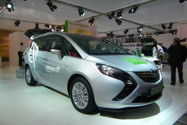 Erdgasautos - Schon auf der IAA 2011 im Blickfeld und 2013 erneut