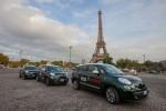 Fiat 500L Living bei der Bosch Diesel Challenge - Paris