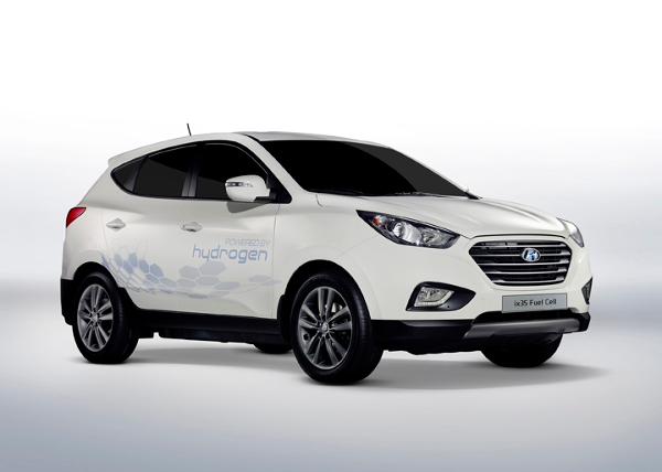 Hyundai ix35 FC mit Brennstoffzellenantrieb