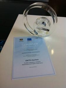 eCarTec Award 2013 für die RWTH Aachen