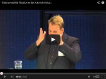 Elektromobilität wird kommen – Vortrag von Zukunfts- und Trendforscher Lars Thomsen