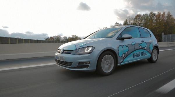 Golf TDI BlueMotion - Auf der Testfahrt mit unter 3 l / 100 km Verbrauch