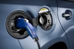 Ladeanschluß eines Toyota Prius Plug-In Hybrid