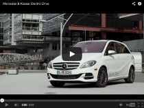 Mercedes B-Klasse Electric Drive im Video von Autobild
