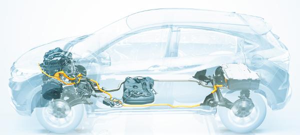 Honda Vezel Hybrid - Antriebssystem