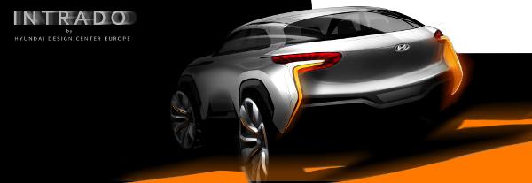 Hyundai Intrado Skizze