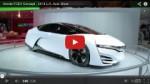 Video: Honda FCEV Concept auf der LA Auto Show