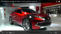 Mitsubishi Concept XR-PHEV auf der Tokyo Motor Show 2013