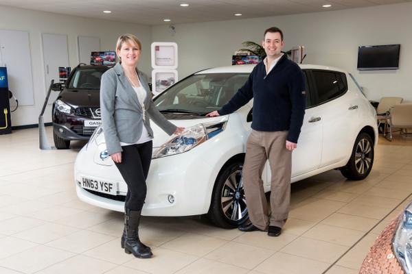 100.000. Nissan Leaf mit seinen Käufern