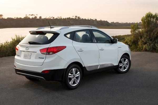 nstoffzellenauto Hyundai Tucson Fuel Cell