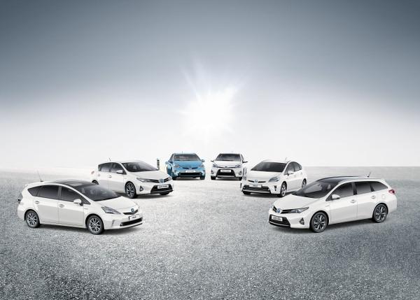 Toyota Hybridmodelle mit Verkaufsrekord