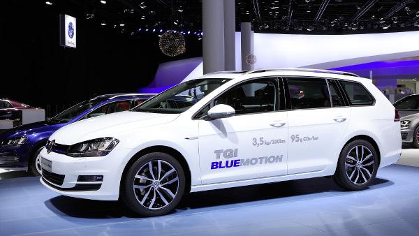 Der neue Volkswagen Golf Variant TGI BlueMotion