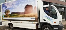 Hermes Paketdienst testet Elektro-LKW mit HyRange-Extender von Proton Motor
