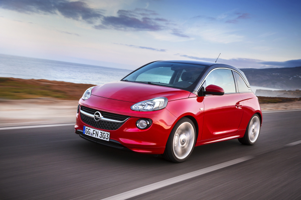 Opel ADAM in Genf: Neuer 1.0 ECOTEC Direct Injection Turbo