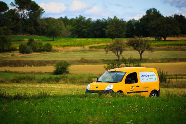 Renault Kangoo ZE von La Poste