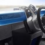 Rinspeed XchangE - Lenkrad Position Autonomes Fahren