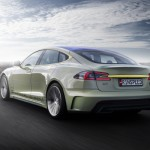 Rinspeed XchangE auf Basis des Tesla Model S