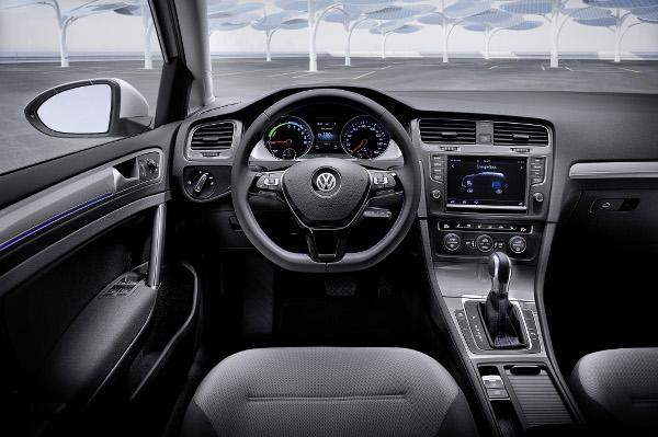 Volkswagen e-Golf - Innenraum