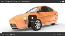 Das supereffiziente Drei-Räder-Fahrzeug von Elio Motors