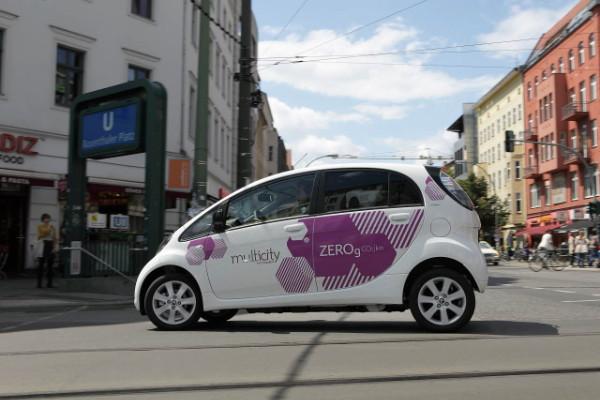 Citroen Multicity Carsharing Berlin - Elektroauto