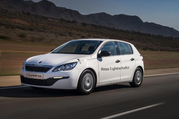 Peugeot 308 PureTech - Rekordfahrt