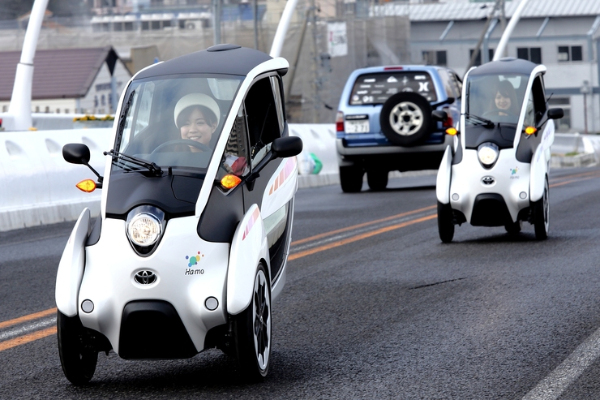 Toyota i-Road Fahrzeuge