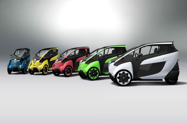 i-Road Fahrzeuge