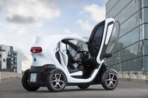 Elektrofahrzeug Renault Twizy