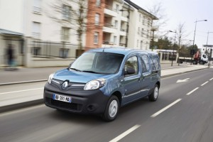 Elektrotransporter Renault Kangoo ZE