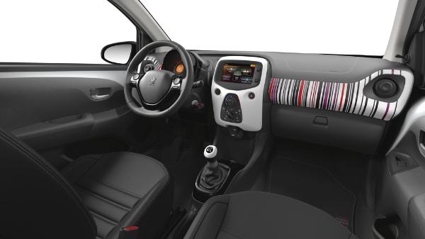 Neuer Peugeot 108 - Innenraum