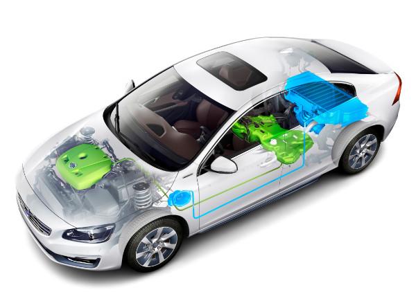Volvo S60L PPHEV Hybridantrieb