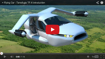 Fliegendes Hybridauto Terrafugia TF-X