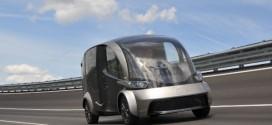 Weltpremiere des futuristischen Elektro-Lieferwagens des EU-Projekts DELIVER