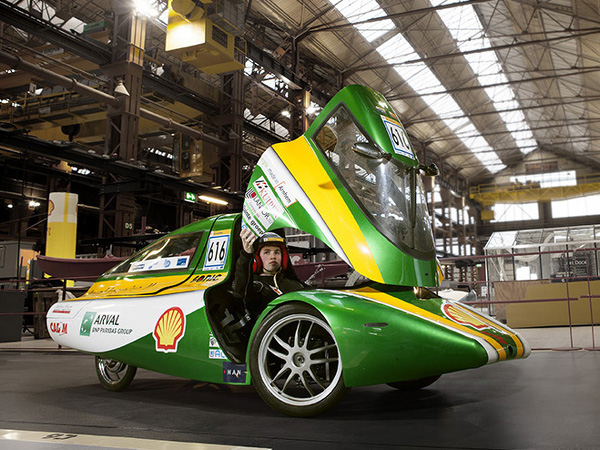 Shell Eco-marathon Europe UrbanConcept