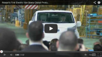 Nissan e-NV200: Produktion des zweiten E-Autos gestartet