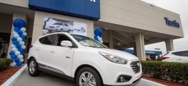 Erster Hyundai Tucson Fuel Cell in den USA ausgeliefert