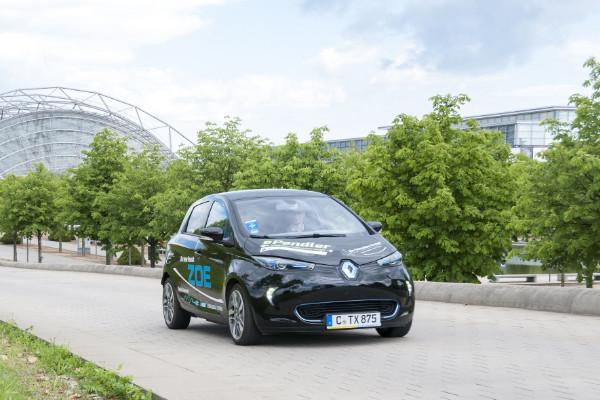 Renault Zoe bei der ePendler-Kampagne