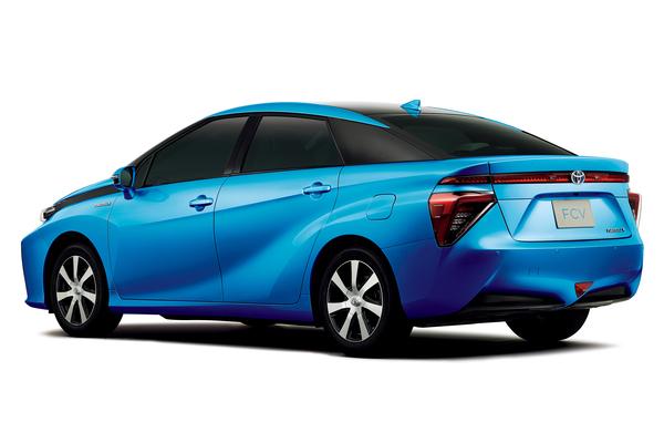 Toyota FCV Brennstoffzellenfahrzeug