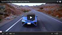 Toyota's Brennstoffzellenauto für 2015