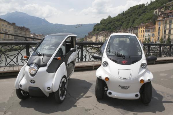 Toyota Elektroautos für das Carsharing