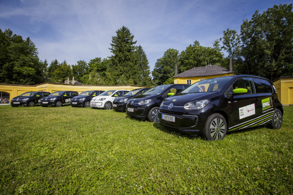 VW e-up! Elektroautos für EMIL