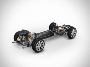 Volvo XC90 Twin-Engine - Antriebsstrang