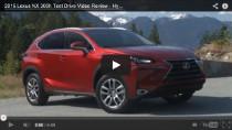 Lexus NX 300h – Testfahrt mit dem 2015er Hybrid