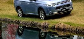 Plug-in Hybrid Outlander von Mitsubishi mit 5 Sternen ausgezeichnet