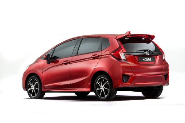 Neuer Honda Jazz - Prototyp