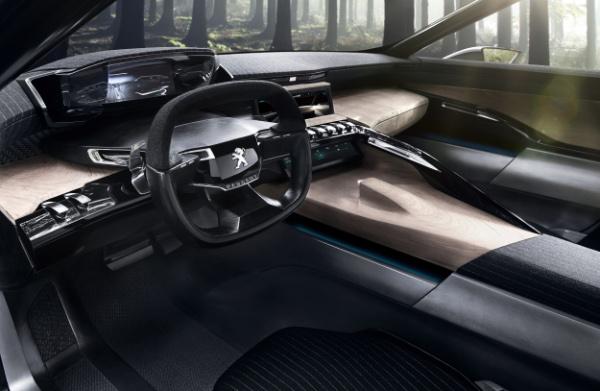 Neuer Peugeot Exalt - Innenraum