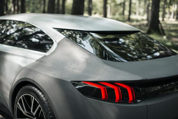 Neuer Peugeot Exalt - Shark Skin